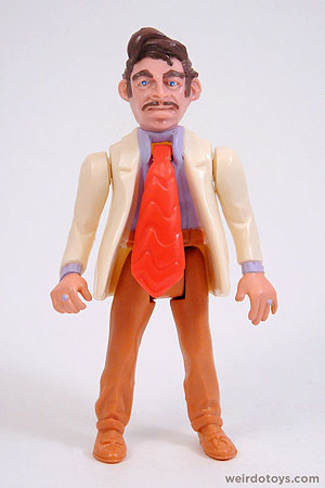 Mr. Sleaze - Police Academy Action Figure by Kenner