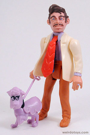 Mr. Sleaze with FooFoo Dog - by Kenner