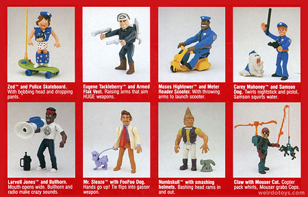 Police Academy figure listing