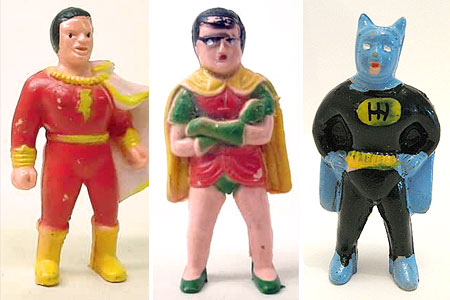Superhero Pencil Toppers