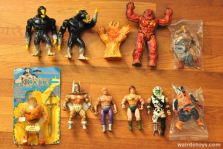 Misc. He-man knockoff figures