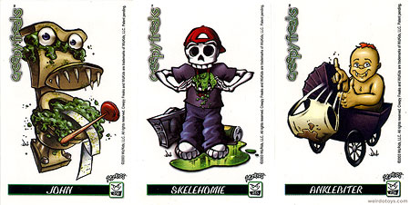 Creepy Freaks Cards
