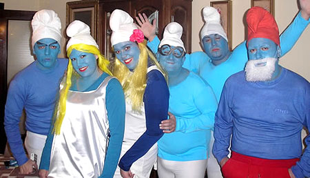 Smurf Halloween Costumes
