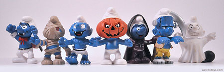 Halloween Smurfs