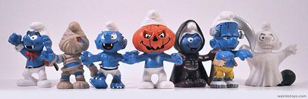 Halloween Smurfs
