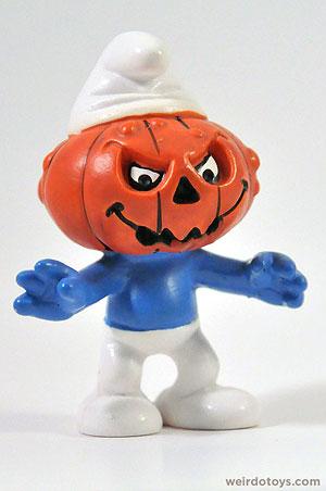 Smurf-O-Lantern