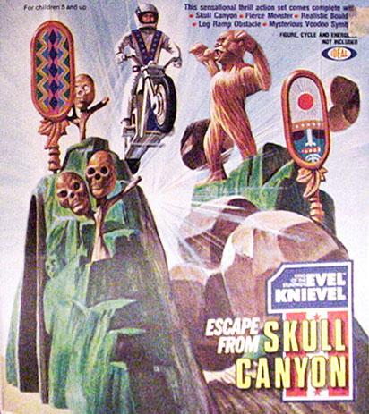 Evel Knievel Skull Canyon