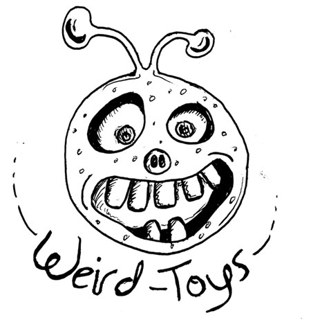 Weirdo Toys' Horrible Logo