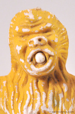 Yellow Yeti Figure