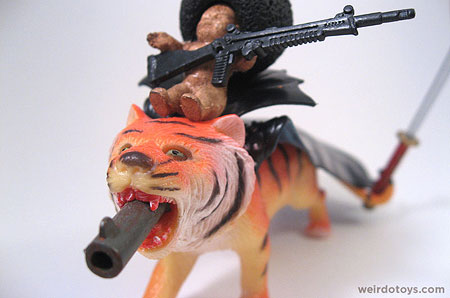 Count Tiger Gun Battle Baby